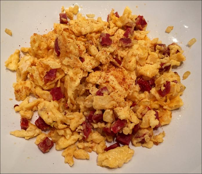 Chorizo scrambled